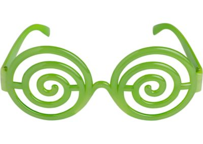 Electric Party Spiral Glasses