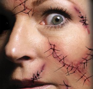 Staples and Stitches Face Tattoo Kit
