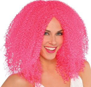 Fly Girl Pink Wig