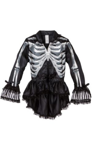 Black and Bone Gothic Jacket - Skeleton