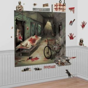 Asylum Wall Decorations 32pc