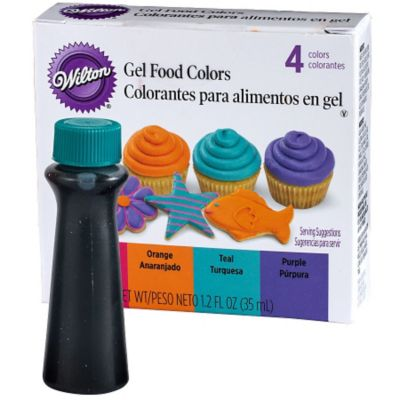 Wilton Neon Gel Food Coloring Set 4ct | Party City