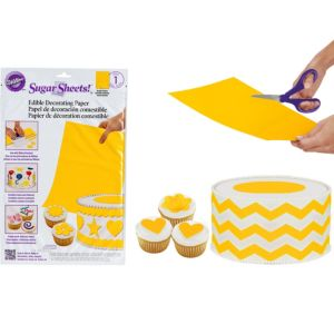 Bright Yellow Sugar Sheet