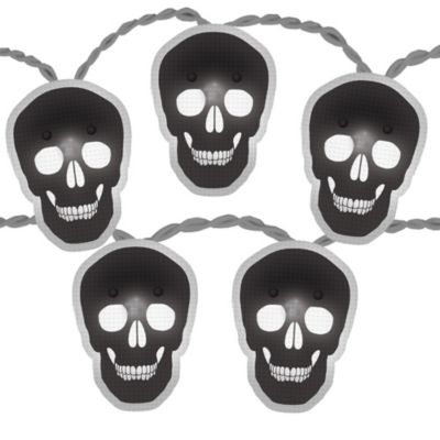 Shimmer Skull String Lights