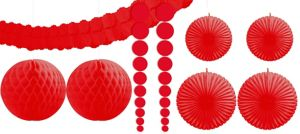 Red Decorating Kit 9pc