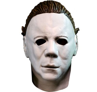 michael myers mask with hair halloween ii party city