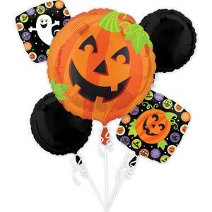 Cute Halloween Balloon Bouquet 5pc
