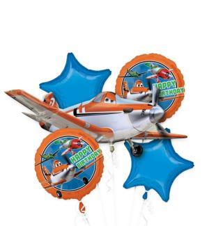 Planes Balloon Bouquet 5pc