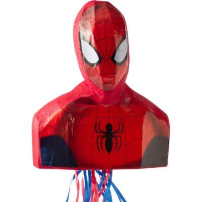 Pull String Spider-Man Pinata