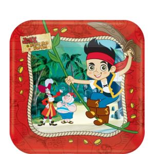 Jake and the Never Land Pirates Dessert Plates 8ct
