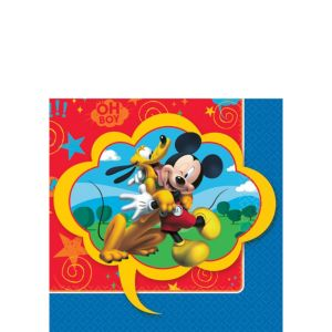 Mickey Mouse Beverage Napkins 16ct