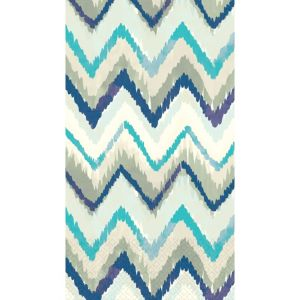 Seaside Stripe Guest Towels 16ct