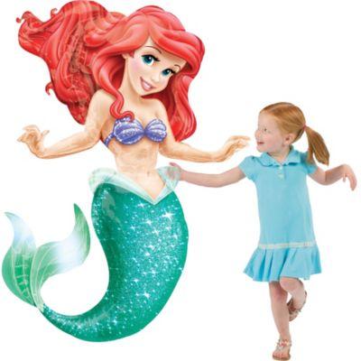 Little Mermaid Balloon - Gliding