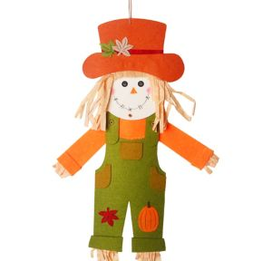 Jointed Felt Scarecrow Boy