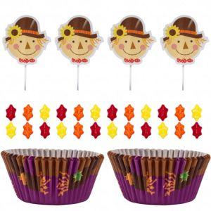 Scarecrow Cupcake Decorating Kit