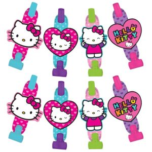 Rainbow Hello Kitty Blowouts 8ct