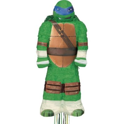 Pull String Leonardo Teenage Mutant Ninja Turtles Pinata