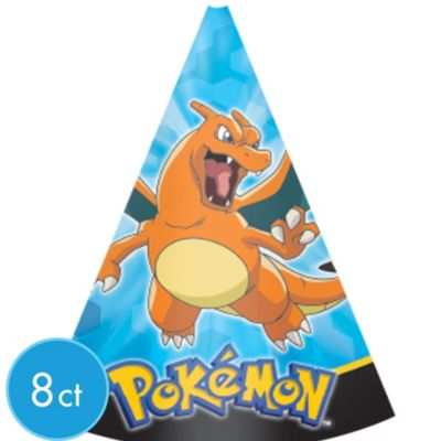 Pokemon Party Hats 8ct