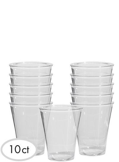 CLEAR Premium Highball Glasses 10ct