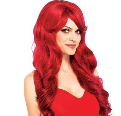 Wavy Long Red Wig