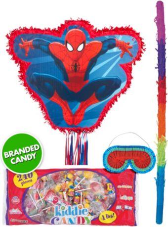 Pull String Amazing Spider-Man Pinata Kit
