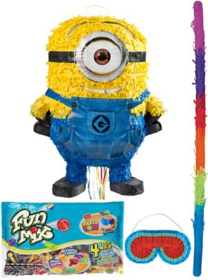 Pull String Stuart Minion Pinata Kit - Despicable Me 2