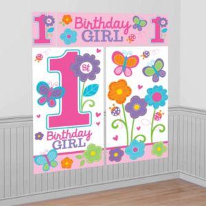 Sweet Girl 1st Birthday Scene Setter
