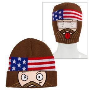 Duck Dynasty Roll-Down Mask Beanie