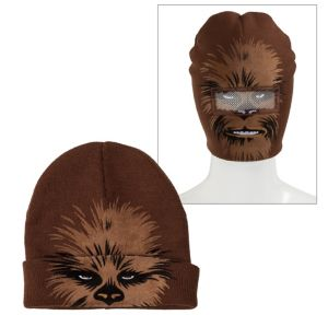 Chewbacca Roll-Down Mask Beanie - Star Wars