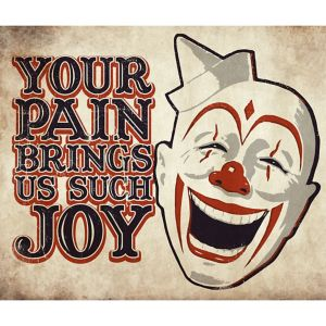 Your Pain Brings Joy Sign