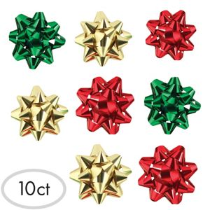 Traditional Holiday Bows 10ct