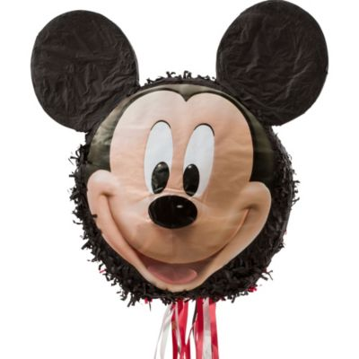 Pull String Smiling Mickey Mouse Pinata