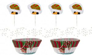 Snowman Cupcake Decorating Kit