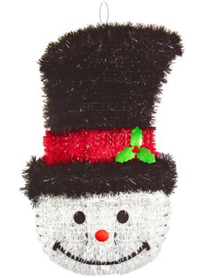 Deluxe Tinsel Snowman