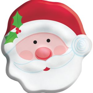 Santa Cookie Container
