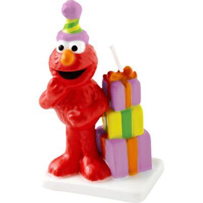 Wilton Elmo Birthday Cake Candle 3in