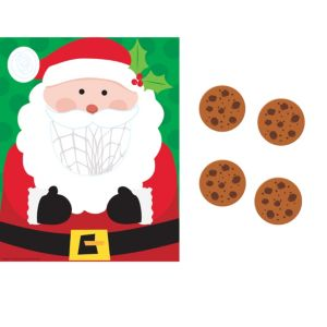 Santa Cookie Toss Game