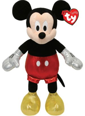 Sparkle Mickey Mouse Beanie Buddies Plush