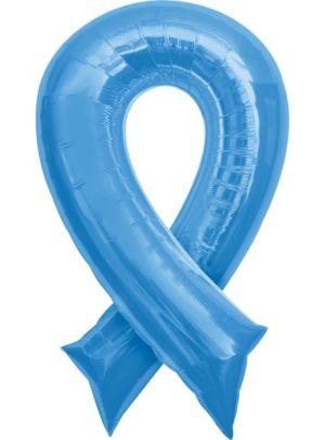 Blue Ribbon Balloon