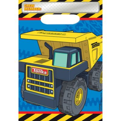 Tonka Truck Favor Bags 8ct