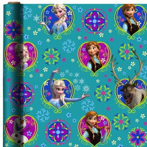 Frozen Gift Wrap