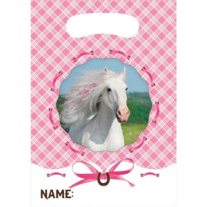 Heart My Horse Favor Bags 8ct