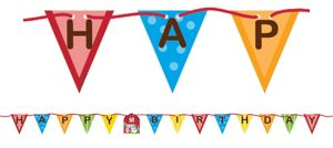 Farmhouse Fun Birthday Banner