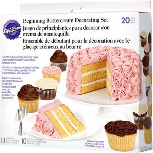 Wilton Beginner's Cake Decorating Set 20pc