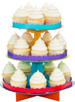 Primary Colors Cupcake Stand
