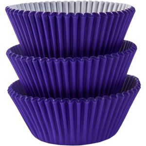 Purple Baking Cups 75ct