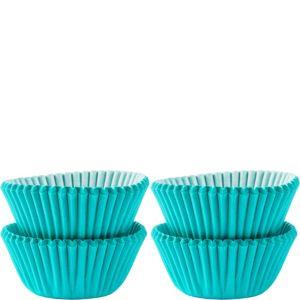 Mini Robin's Egg Blue Baking Cups 100ct