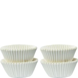 Mini White Baking Cups 100ct