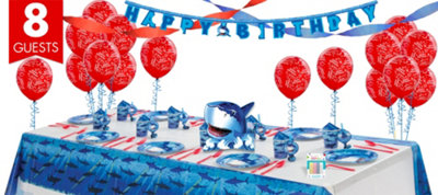 Shark Super Party Kit for 8 Guests
