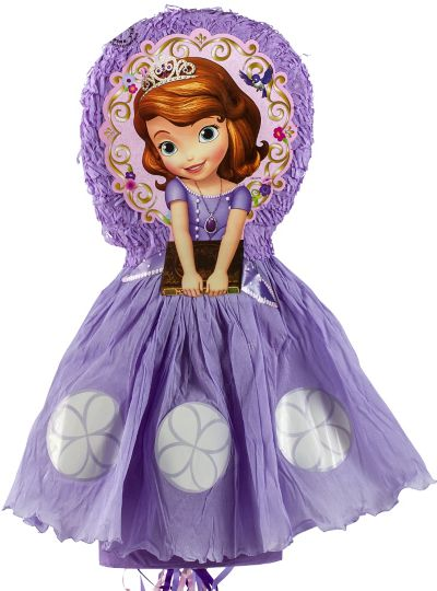 Pull String Sofia The First Pinata Deluxe 30 3 4in X 13in